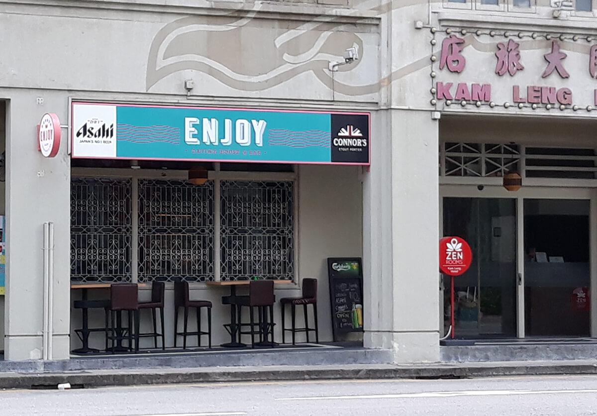 Enjoy Eating  House _ Bar