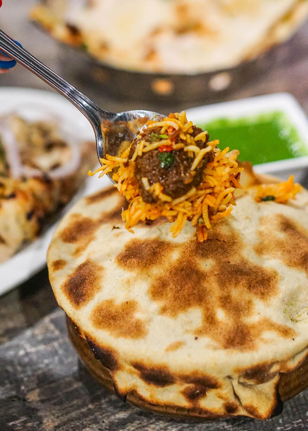 Mutton Dum Briyani