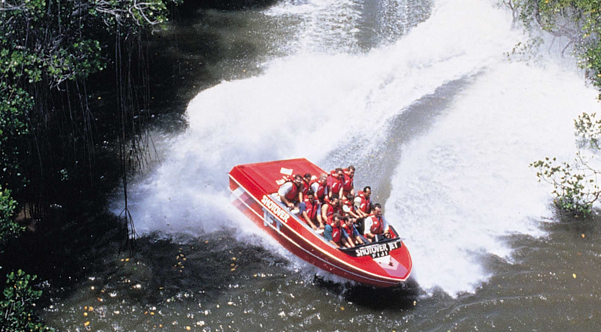 Fiji Jet Boat Ride