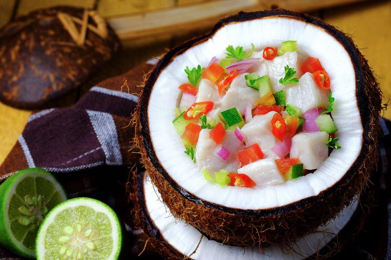 Fijian food Kokoda