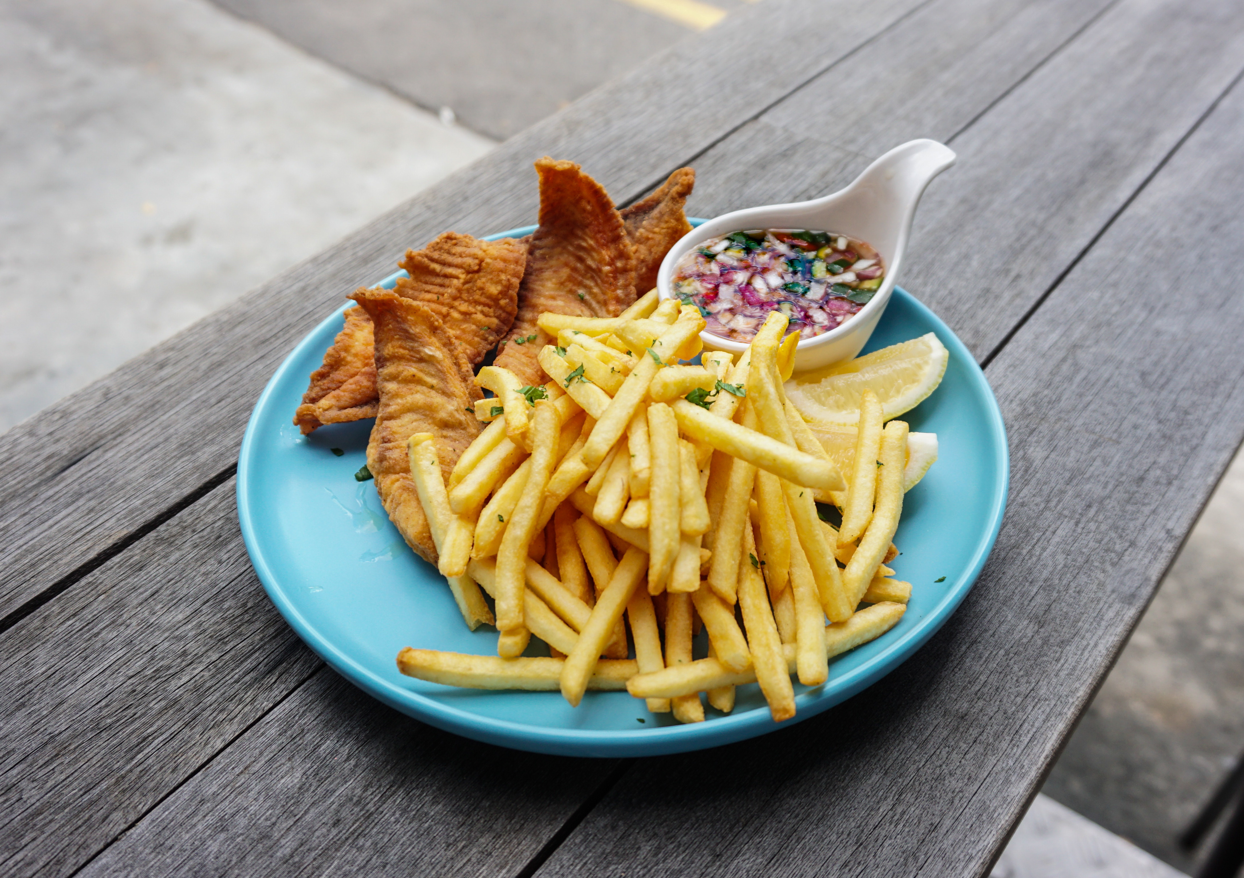 Thai-style Fish & Chips